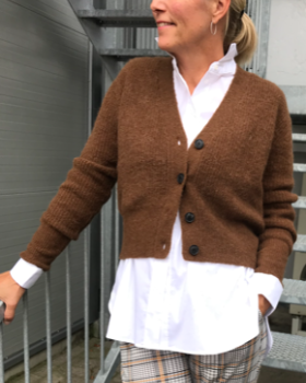 Just Female - REBELO KNIT STRIKCARDIGAN - JUST FEMALE