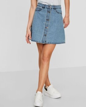 Noisy May - NMSUNNY SHORT DENIM NEDERDEL - NOISY MAY